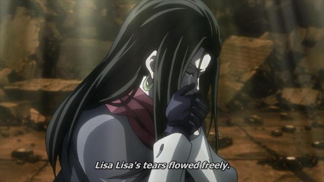 lisa lisa's tears flowed freely